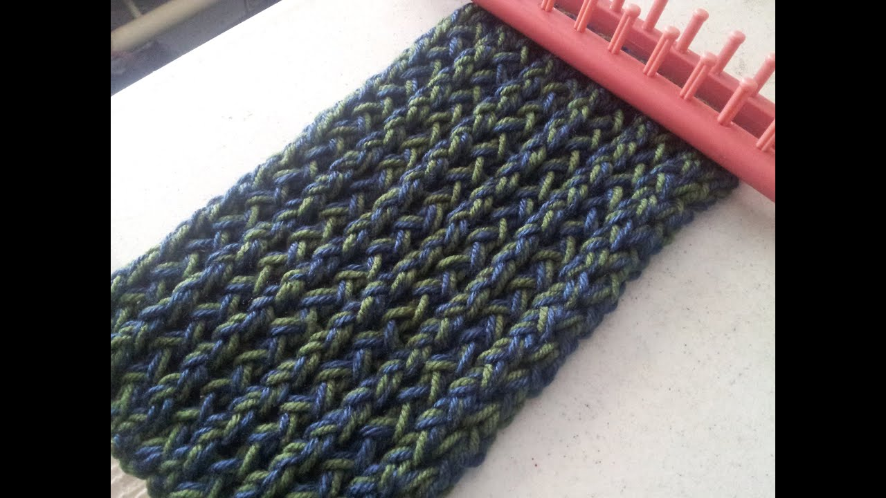 Tutorial bufanda trenzada azul - YouTube f41137c4897