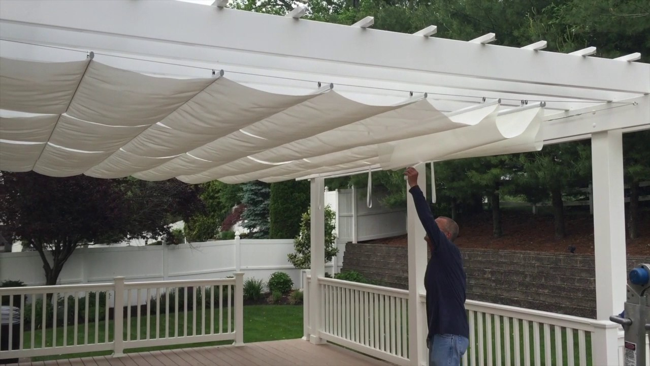 Pergola Awning Canopy Installation Farmingdale Nj By Shade One Youtube