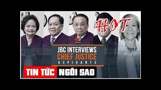 LIVE: JBC interviews Supreme Court Chief Justice aspirants | Tin Tức Ngôi Sao