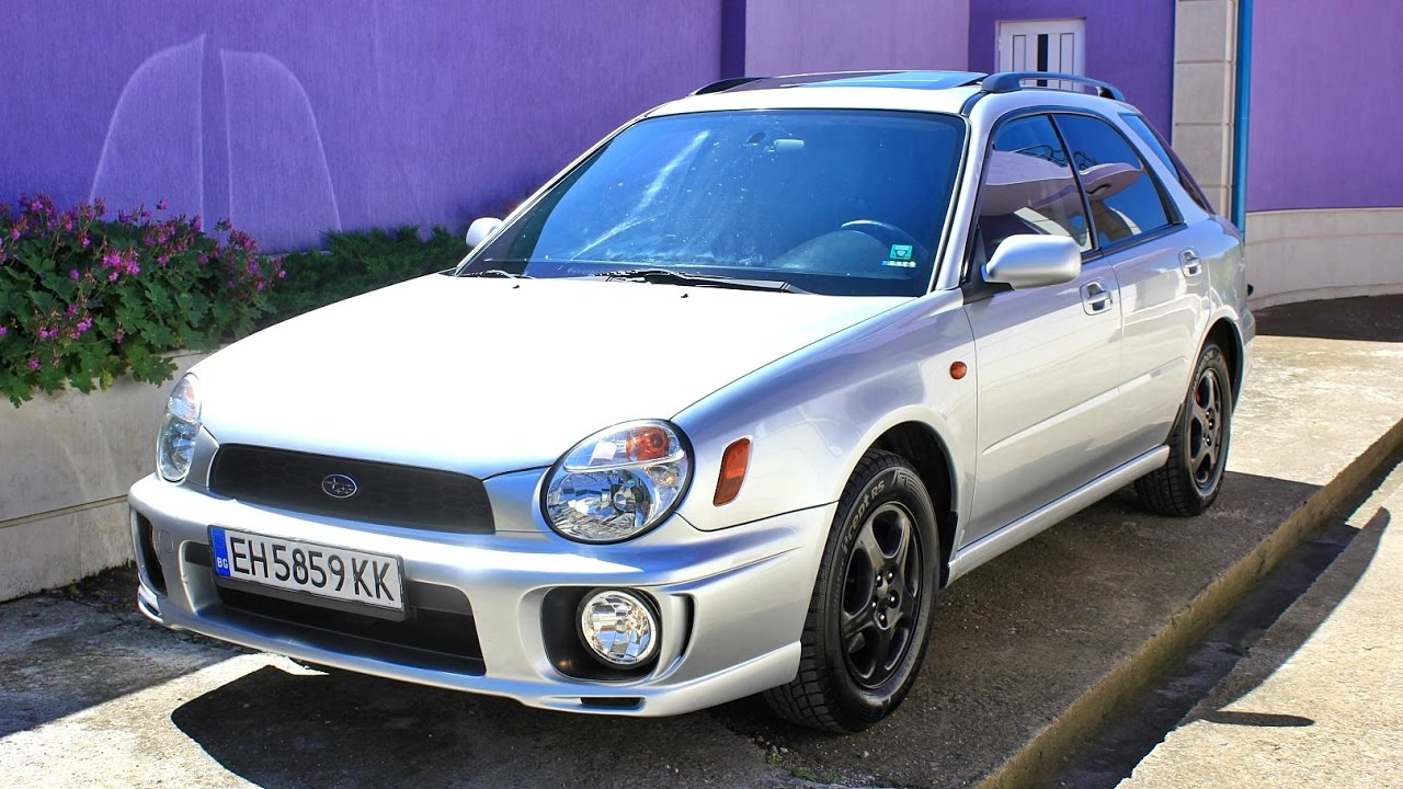 Subaru Impreza 2 0 Gx 125hp 2002 Youtube