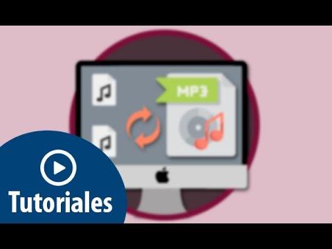 Convertir Archivos M4a O Acc A Mp3 Utilizando Itunes En Mac Youtube