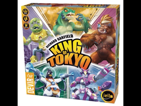 Cómo jugar a King of Tokyo - Devir