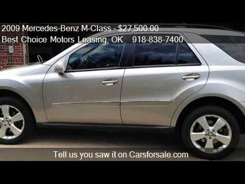 2009 mercedes benz m class ml350 4matic awd suv for sale i - Mercedes Benz Suv 2009
