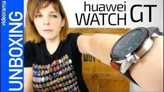 Huawei Watch GT unboxing -MAXIMA autonomía-