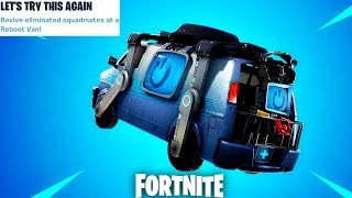 Fortnite New Reboot Van Update Countdown + Gameplay! (Fortnite New Update)