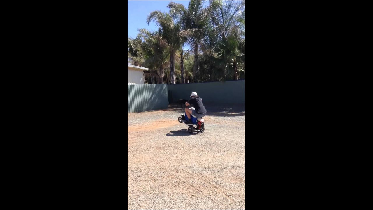 49cc motorized esky wheelies