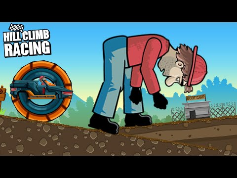 Hill Climb Racing - Daily Challenges Mutant Car and GIANT BILL NEWTON GamePlay