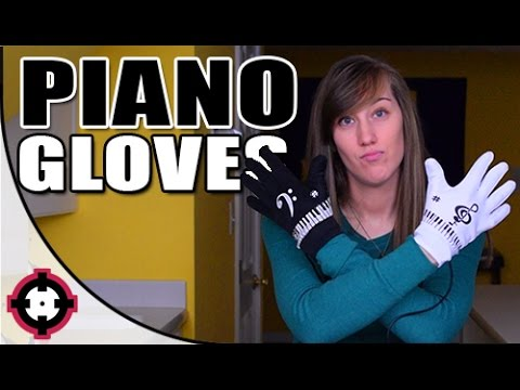 ♫ Electronic Piano Gloves ♫