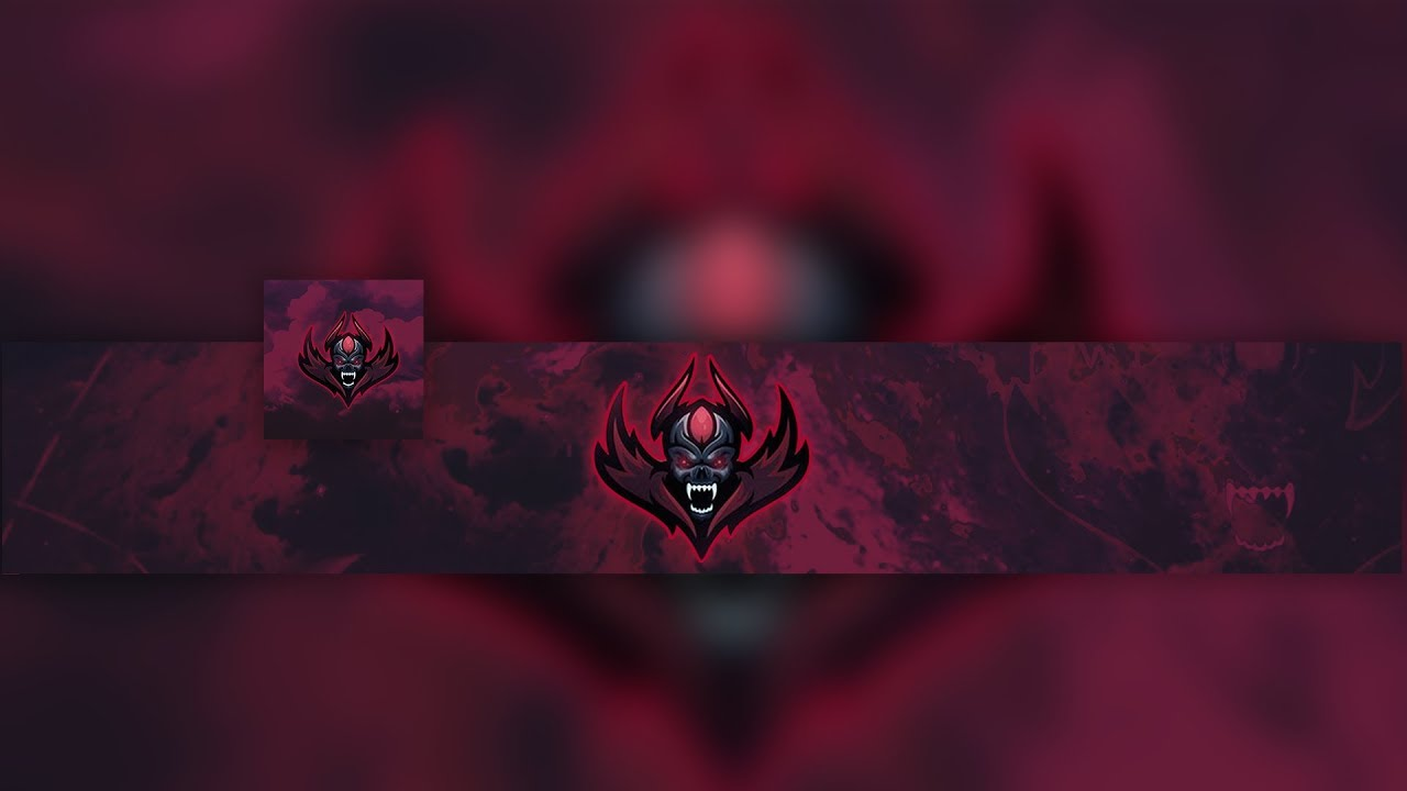 Free Gfx No Text 2d Mascot Gaming Clan Banner Avatar Template 2017