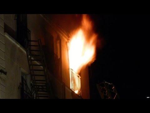 Paris fire: Eight dead in city apartment building