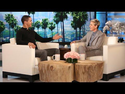 'The Daily Show' Host Trevor Noah Meets Ellen