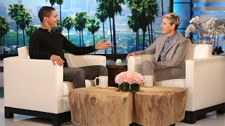 'The Daily Show' Host Trevor Noah Meets Ellen