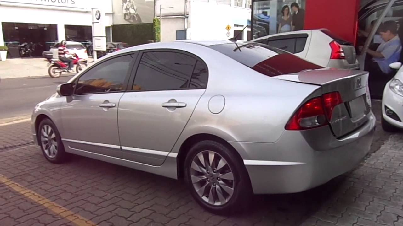 Honda New Civic Lxl 1 8 16v Flex 2011 Youtube