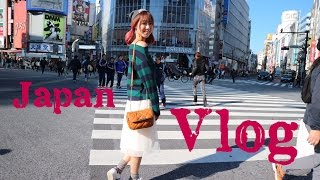 Japan Vlog #1 Shopping + Sushi (日本旅遊逛街+美食)