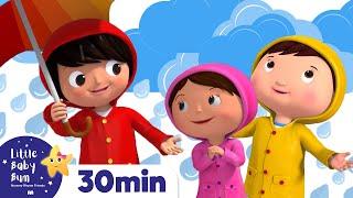 Splashing in Puddles |  More Nursery Rhymes and Kids Songs -...
