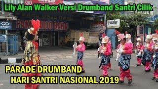 Alan Walker - Lily Versi Drumband Santri Cilik di Trenggalek 2019