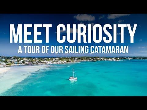 Meet Curiosity - A Full Tour of our Sailing Catamaran