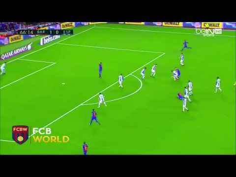 Messi vs Espanol Second goal Arabic Commentary!!!