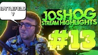 BattleField V Crazyness- JoshOG Stream Highlights #13 - (Funny Twitch Moments/Epic Plays)