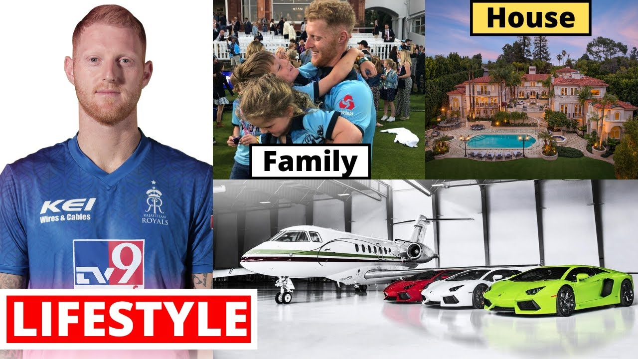 Ben Stokes Lifestyle 2021, House, Cars, Family, Biography, Net Worth, Records, Career & Income