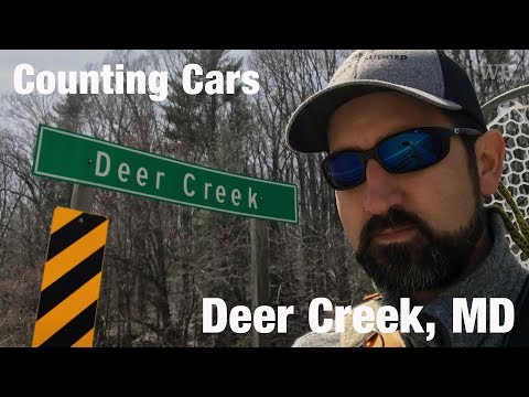 WB - Fly Fishing & Counting Cars, Deer Creek, MD - April '18