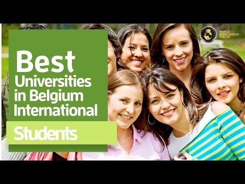 5 Best Universities in Belgium