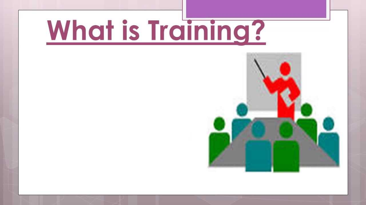 What is training 75
