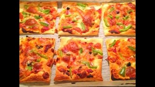Puff Pastry Mini Pizzas (made In 30 Minutes Or Less!!!) - Recipe
