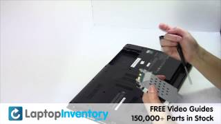SONY VAIO Hard Drive Replacement Guide - Disassembly Take Apart E15 SVE15 SV-E15