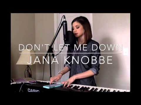 Thumbnail: Jana Knobbe | Don't Let Me Down - Chainsmokers ft. Daya (Live Cover)