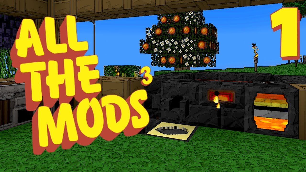 Minecraft All The Mods 3 #1 [Modded Survival]