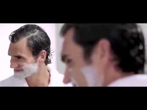 tres drole video commerciale ♣ L  Messi ♣ R  Federer
