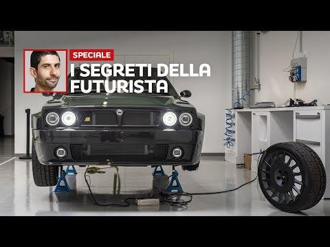 Lancia Delta Futurista, dietro le quinte di un Sogno