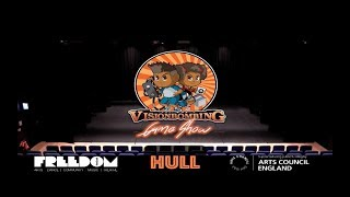 VisionBombing Game Show Hull Recap @ Freedom Festival 2019