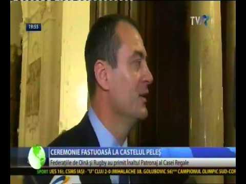 Federațiile Române de Rugby și Oină, înalt patronaj regal