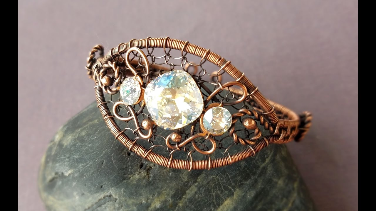 Wire Wring Tutorial New Years Bracelet Part 1