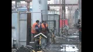 Взрыв газового баллона  в вагоне-ресторане (29.03.2012)