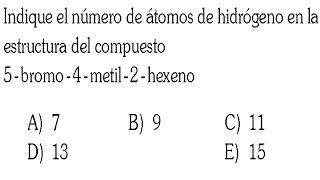 HIDROCARBUROS EJERCICIO RESUELTO DE QUIMICA ORGANICA
