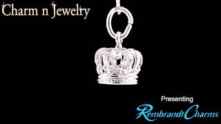 Crown Sterling Silver Charm Style 119