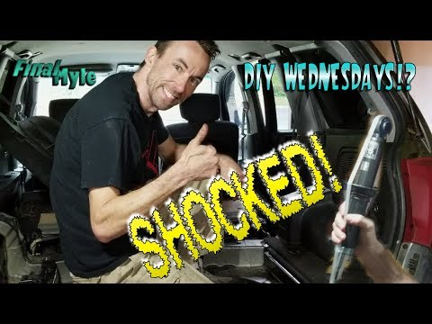 DIY Wednesday – unofficially. Replacing rear shocks on a 2004 Mitsubishi Endeavor!