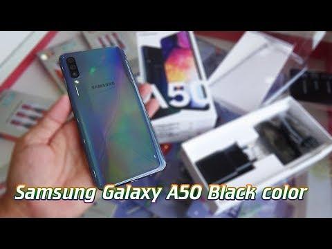 Unboxing Samsung Galaxy A50 Black Color
