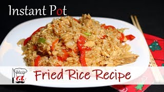 Chinese Fried Rice Recipe | Instant Pot Recipe