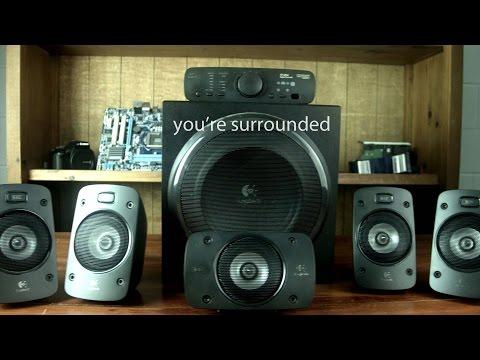 Logitech Z906 5.1 Surround Speaker System Review