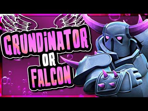 TH9 GRUNDINATOR vs FALCON | BEST KILLSQUAD ATTACKS | Clash of Clans