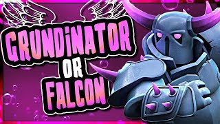 TH9 GRUNDINATOR vs FALCON | BEST KILLSQUAD ATTACKS | Clash of Clans