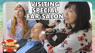 Download Video Japanese man at the Japanese ear spa: ear cleaning the Japan way MP3 3GP MP4