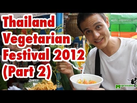 Thailand Vegetarian Food Festival (Part 2) - Bangkok 2012 เทศกาลกินเจ