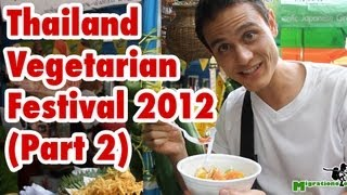 Thailand Vegetarian Food Festival (Part 2) - Bangkok 2012 เทศกาลกินเจ