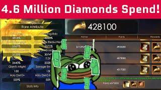 Фото 4.6 Million Diamonds Spend - Monster Pit - Alt Power - Boost - Legacy Of Discord - Apollyon