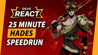 Hades Developers React to 25 Minute 'Fresh File' Speedrun